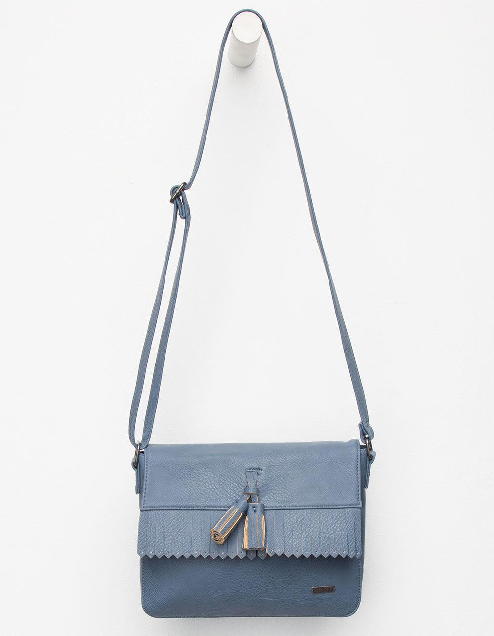 8071a1496d Lyst - Roxy Botanic Quilts Cross Body Bag in Blue