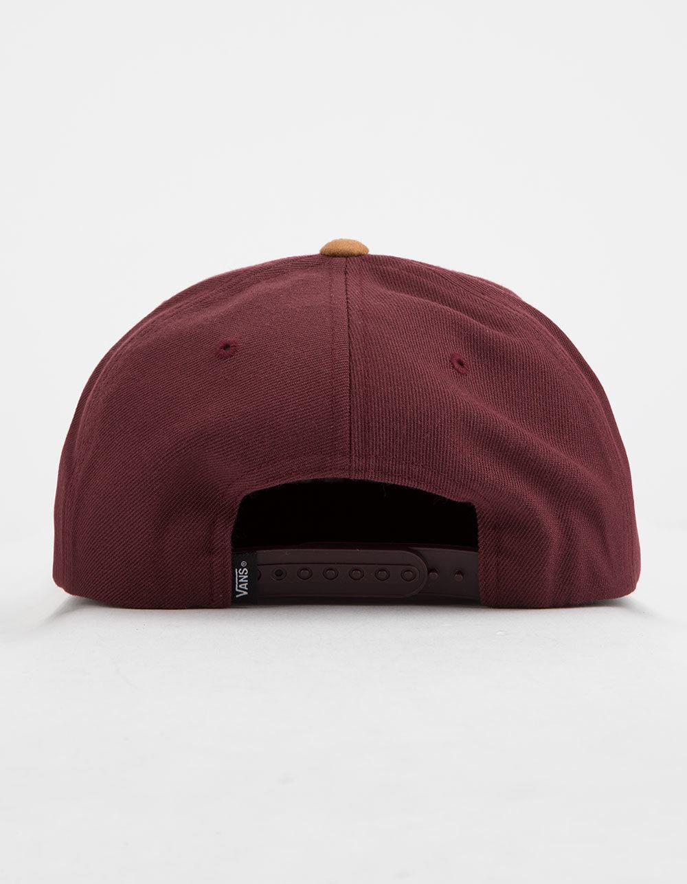 Lyst - Vans Drop V Port Royale Mens Snapback Hat in Red for Men be23a926a