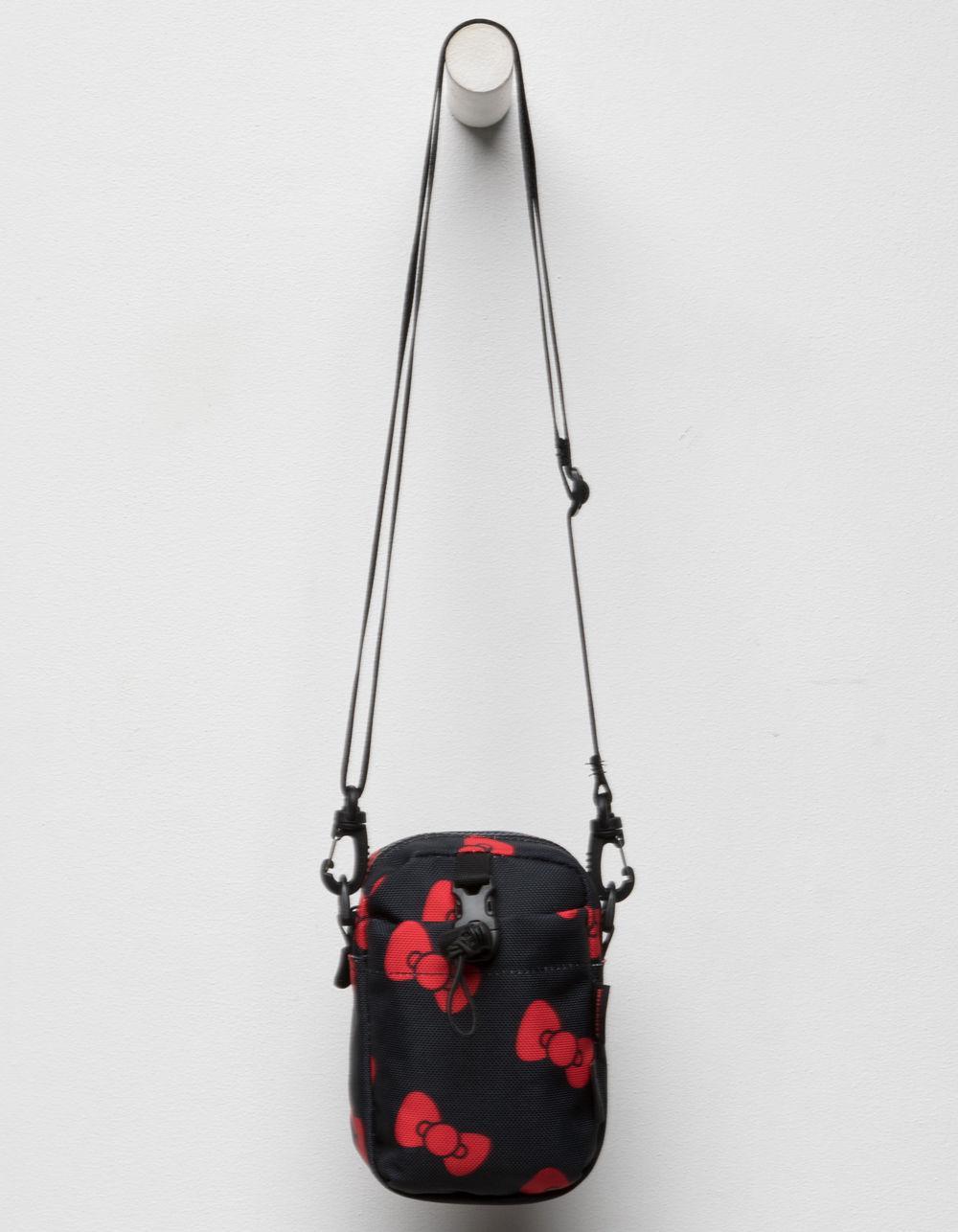 e03b26a1a5 Lyst - Converse X Hello Kitty Black Mini Crossbody Bag in Black