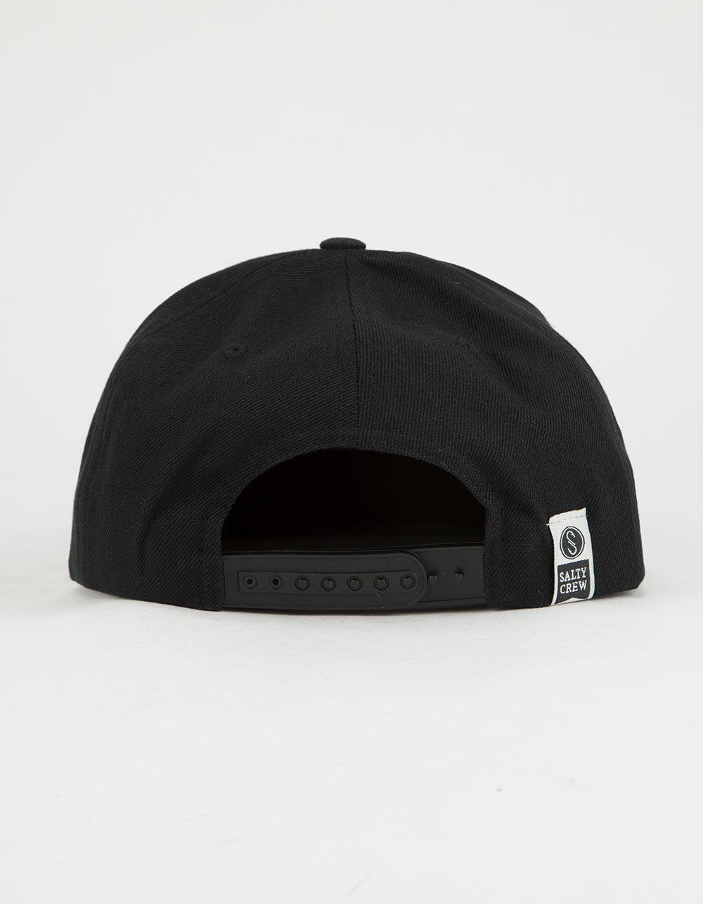 new styles 596ec c6938 ... official store lyst salty crew eight legs mens snapback hat in black  for men 6a6e5 40be3