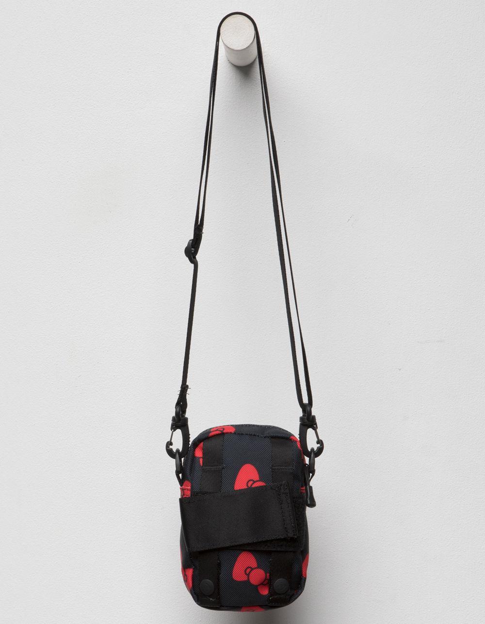 Lyst - Converse X Hello Kitty Black Mini Crossbody Bag in Black 52b7b8a23f1e6