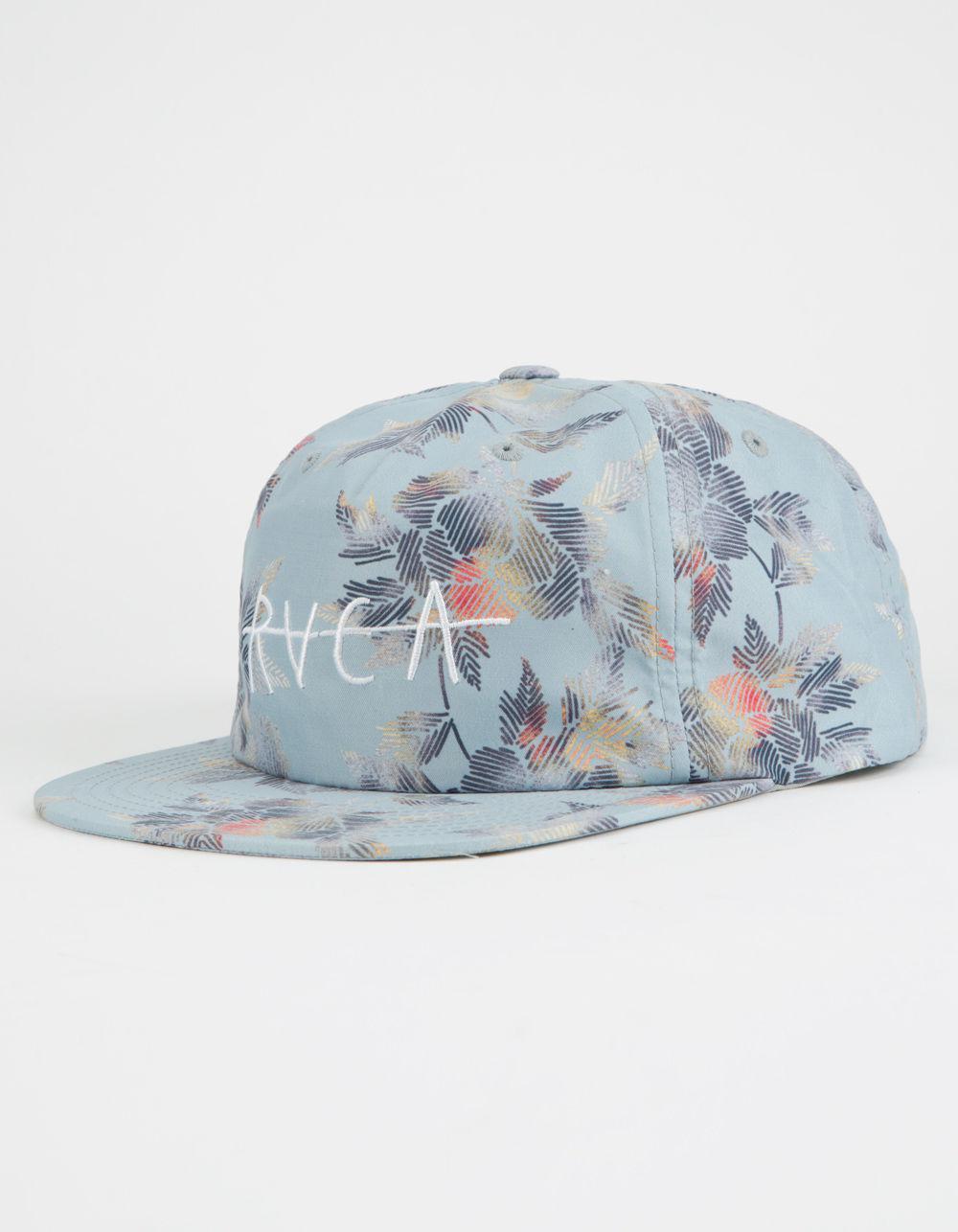 2114c68107484 ... shopping lyst rvca bora unstructured mens strapback hat in blue for men  de3bd b99de