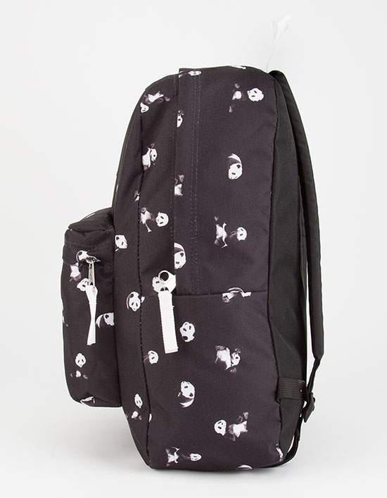 Jansport Black Panda Space Superbreak Backpack