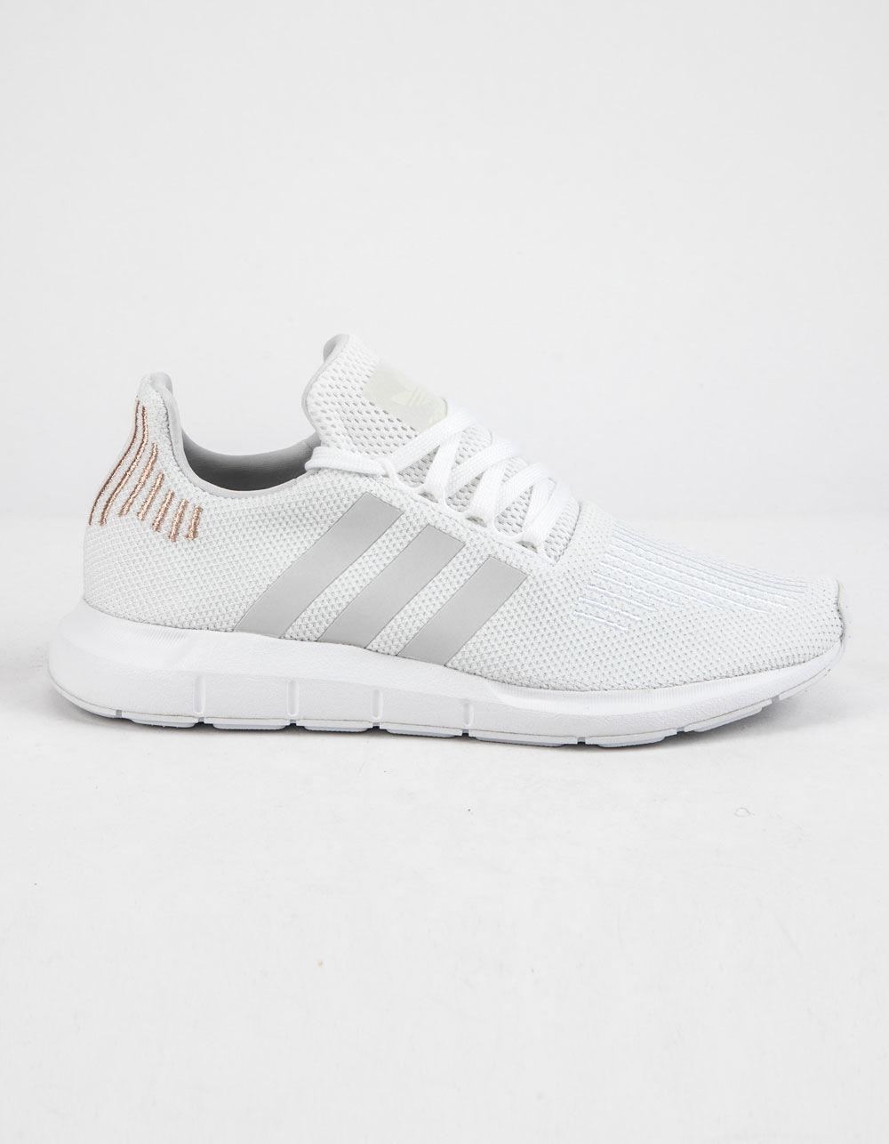 Lyst - adidas Swift Run Cloud White   Crystal White Womens Shoes in ... 9941dc8d24