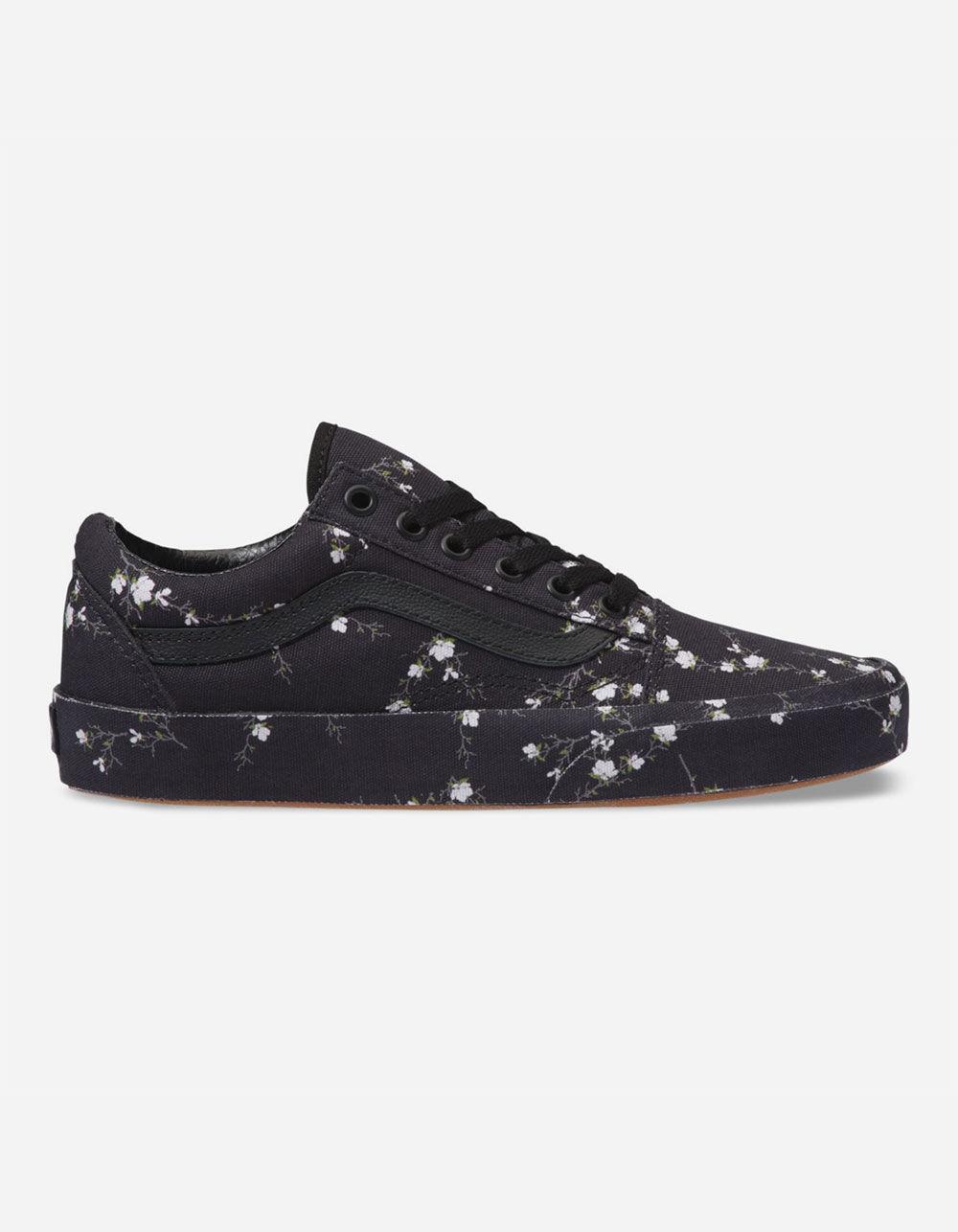 ed979fc1be1 Lyst - Vans Old Skool Midnight Floral Womens Shoes in Black