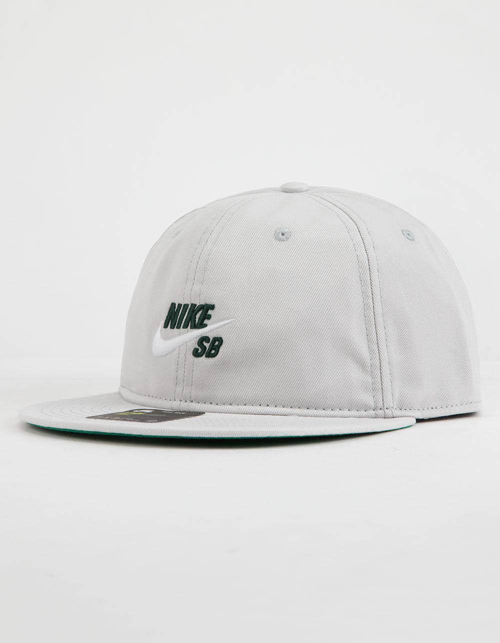 outlet store c64c6 983fe get nike. vintage pro mens gray snapback hat 58a7b 4153a