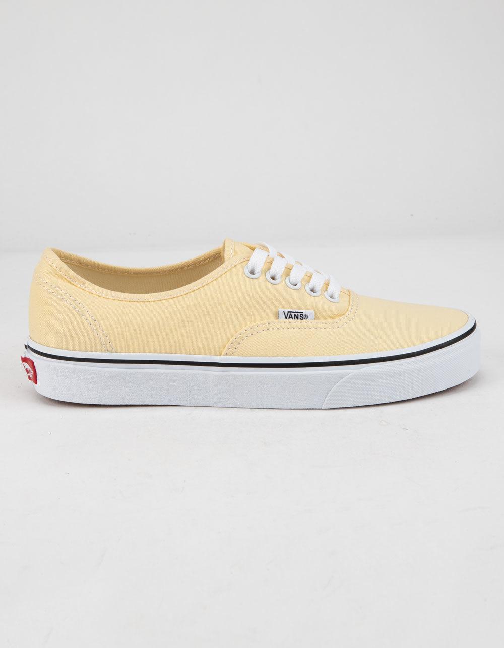 077c91e9f7 Lyst - Vans Authentic Vanilla Custard   True White Womens Shoes in ...
