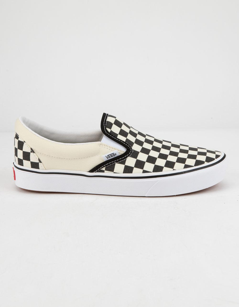 31fa8586730a Vans - Multicolor Comfycush Checkerboard Classic Slip-on Shoes - Lyst. View  fullscreen