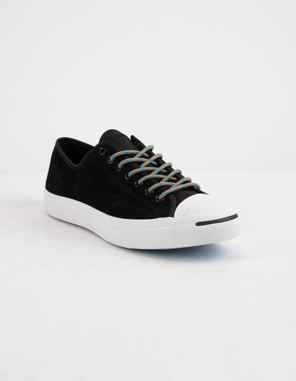 b19b76e68a024f Lyst - Converse Jack Purcell Black Classic Low Top Shoes in Black