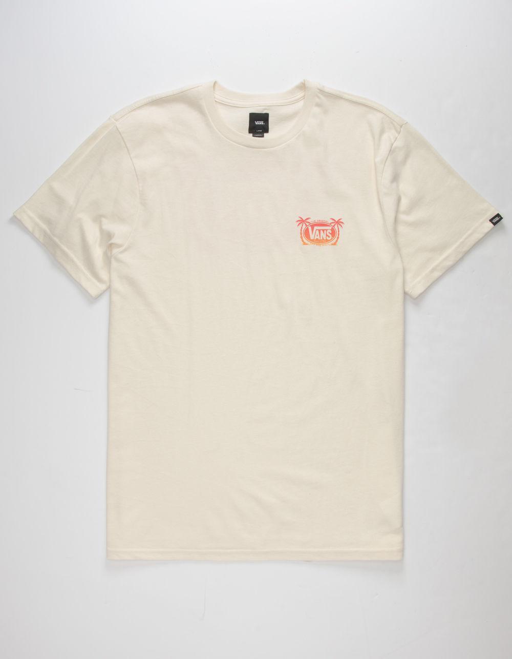 6b864910799e8c Lyst - Vans Oval Palm Mens T-shirt in White for Men