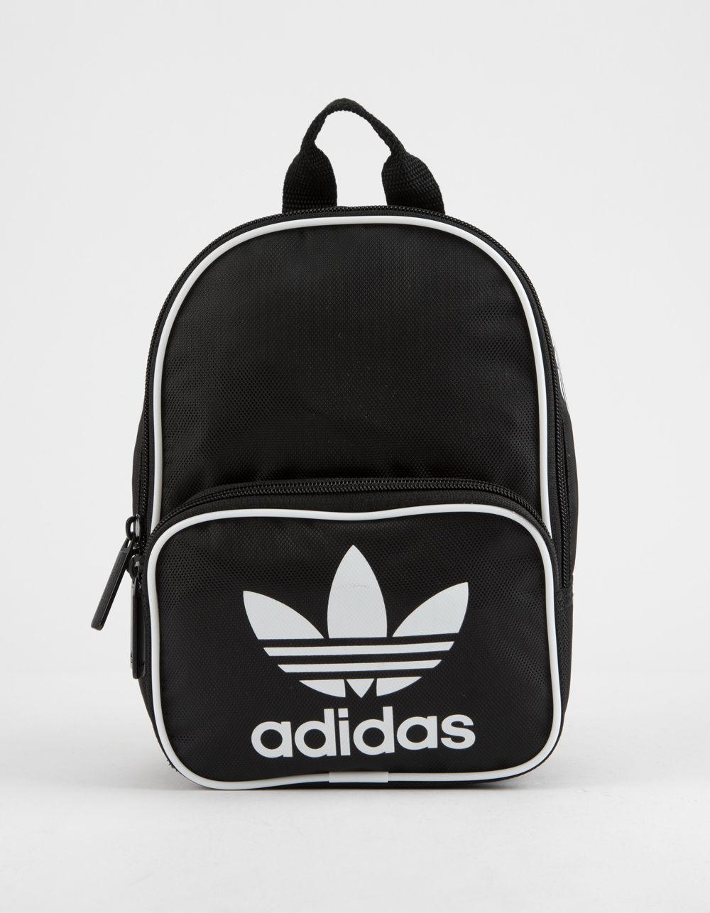 Adidas - Originals Santiago Black Mini Backpack - Lyst. View fullscreen 0479fc4cb5607