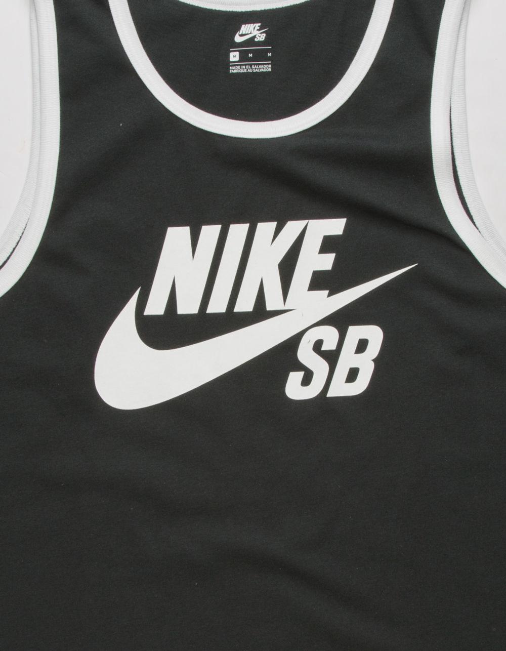 6c984171a07909 Lyst - Nike Mens Ringer Tank Top in Black for Men