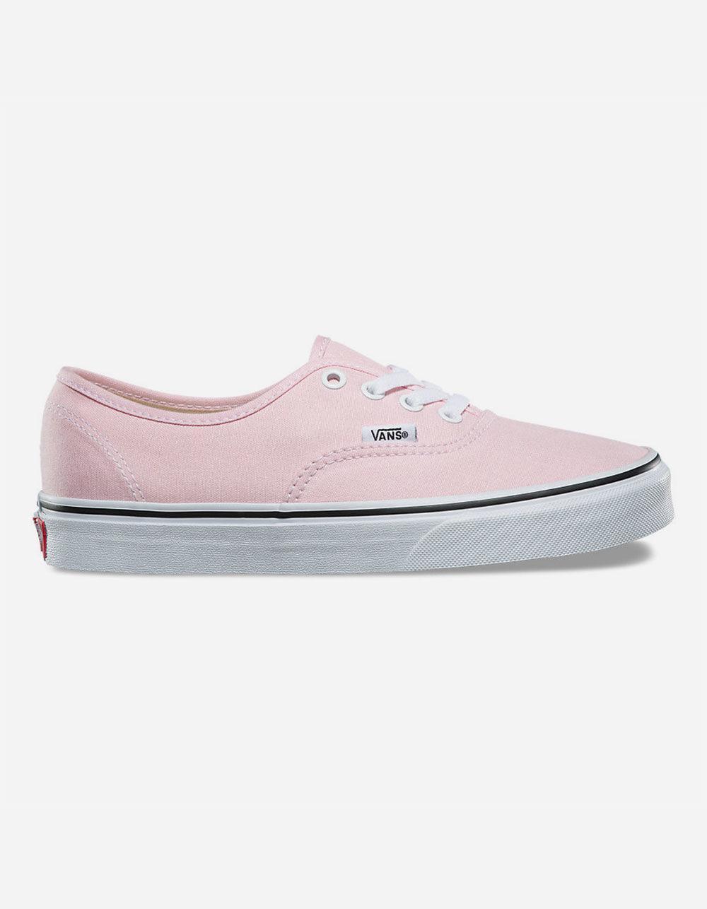 Vans Authentic Chalk Pink  True White Womens Shoes