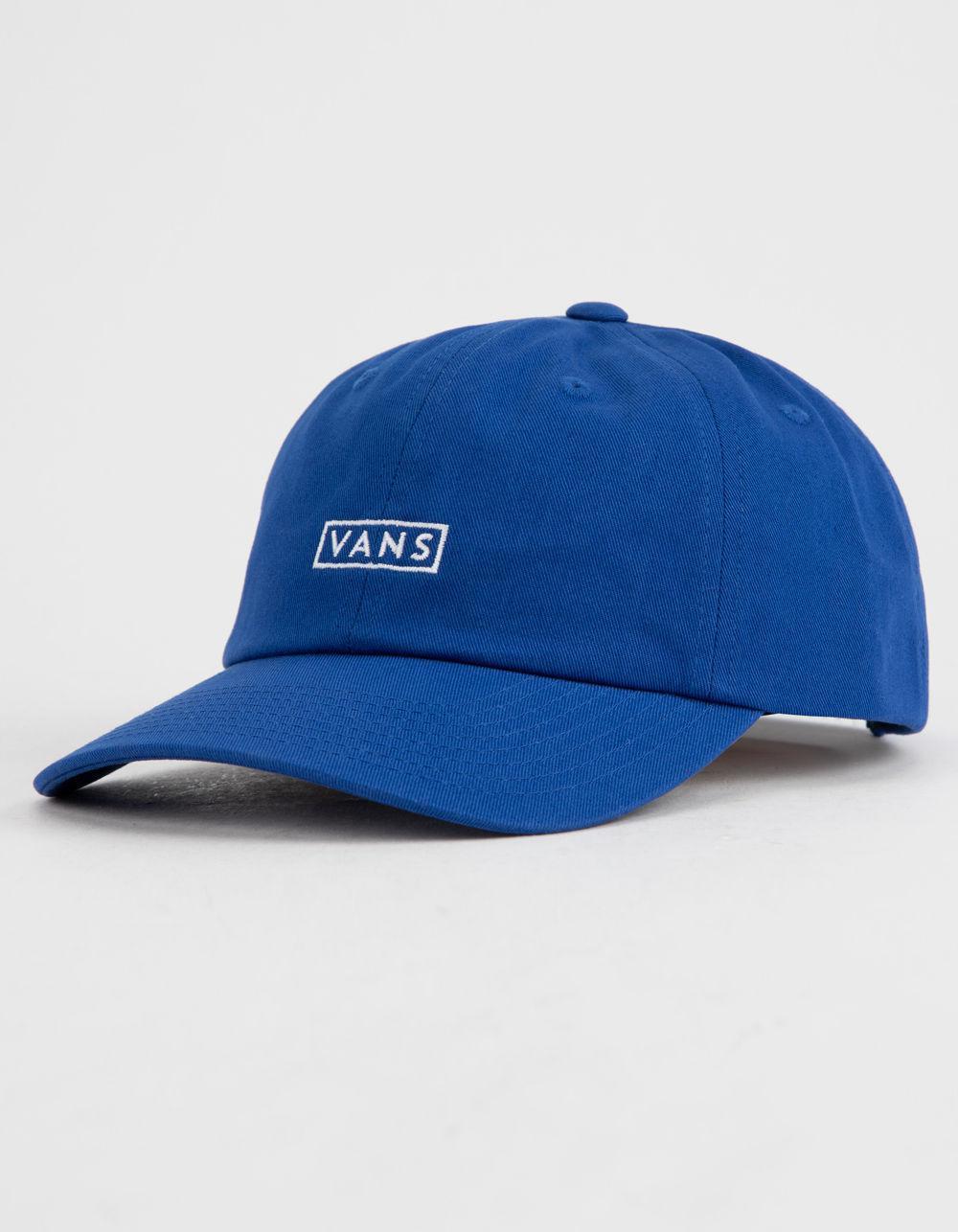 1176ea57fca7f7 Vans - Blue Curved Bill Jockey Ever Mens Strapback Hat for Men - Lyst. View  fullscreen
