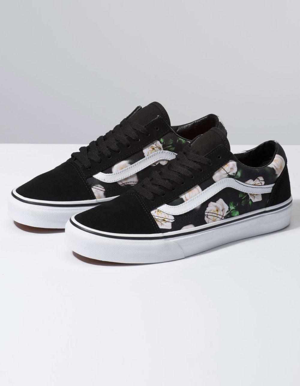 buy \u003e vans old skool floral shoes, Up