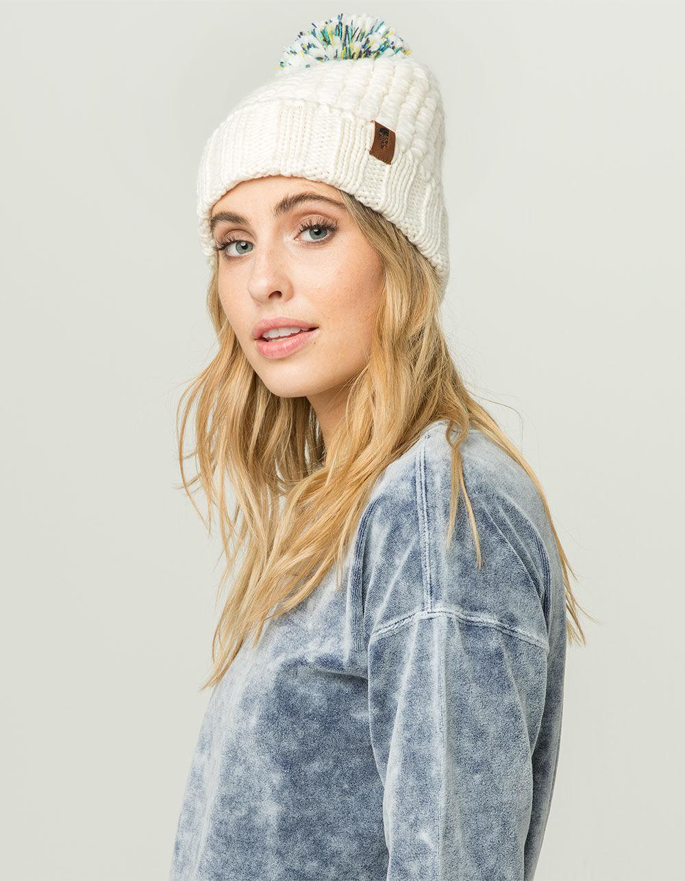 d3922b7cb The North Face White Cozy Chunky Beanie