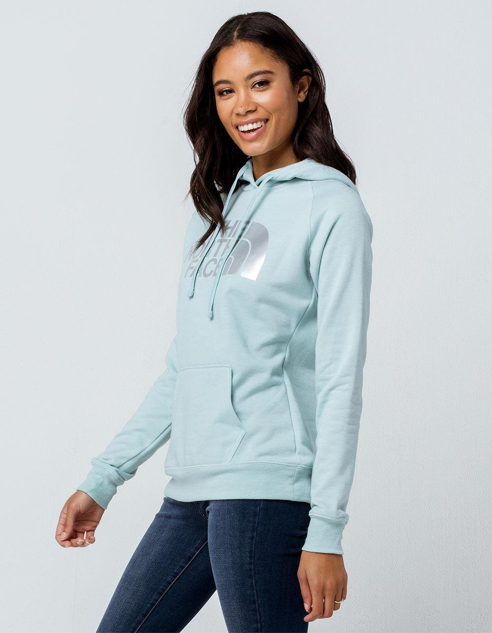 8f00f741de1ae Lyst - The North Face Jumbo Logo Blue Haze Heather Womens Hoodie in Blue
