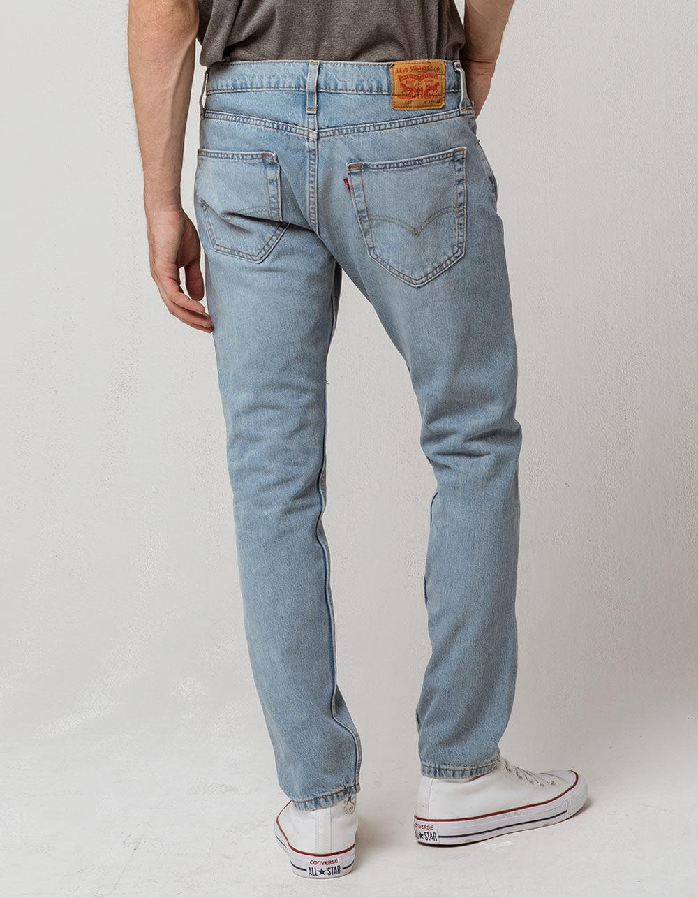 5a45bb58e33 Levi's - Blue 512 Max Warp Mens Ripped Jeans for Men - Lyst. View fullscreen