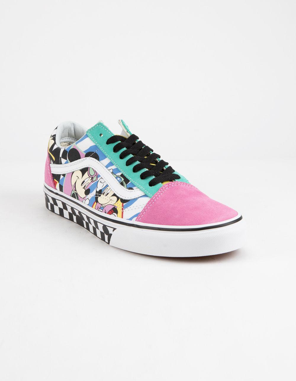disney x vans old skool shoes