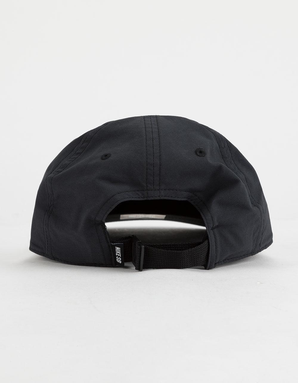 96148c419a1ae Lyst - Nike Dri-fit Heritage 86 Flat Black Mens Strapback Hat in Black