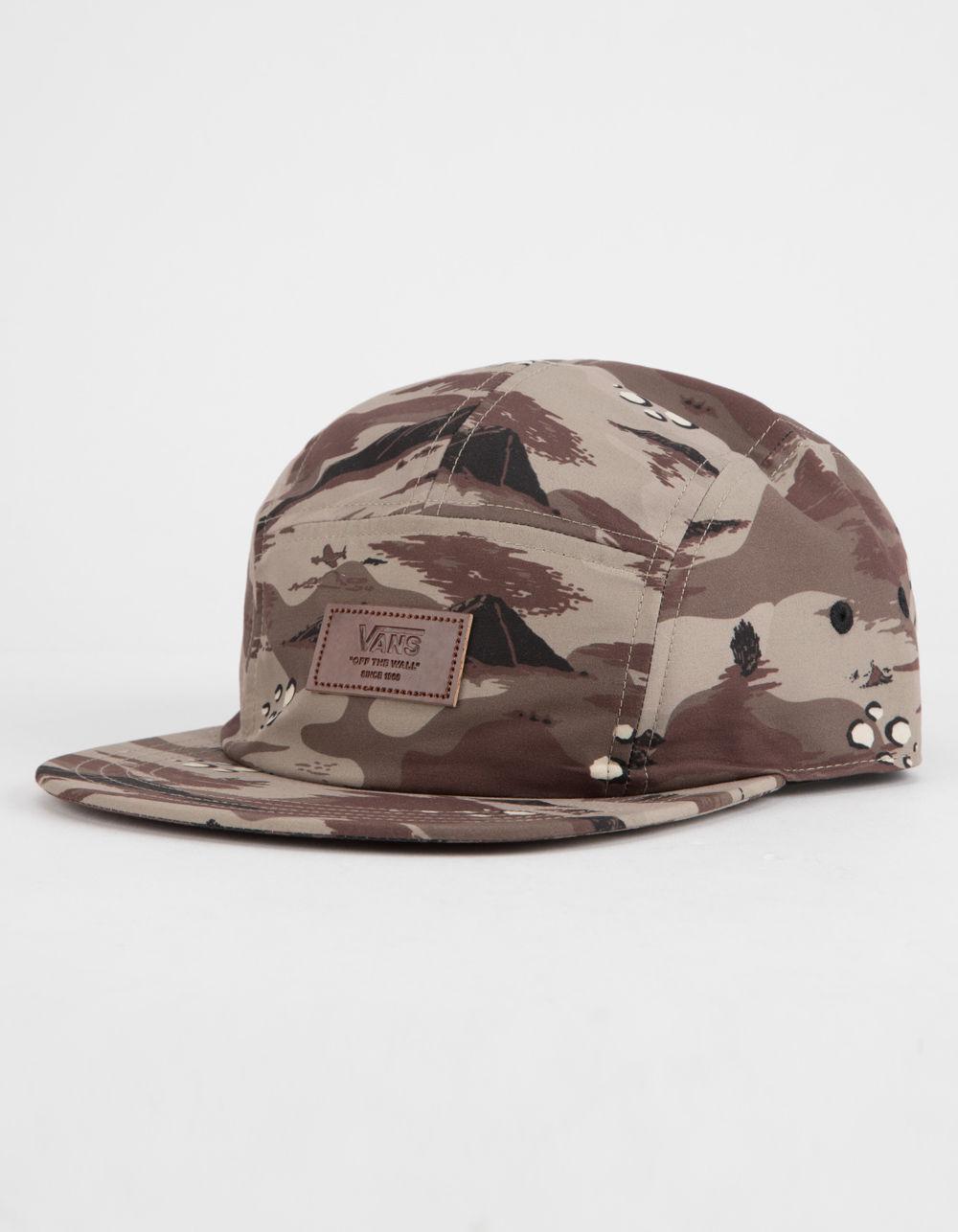 Lyst - Vans Davis Camo Mens Camper Hat in Brown for Men 2c7a31453