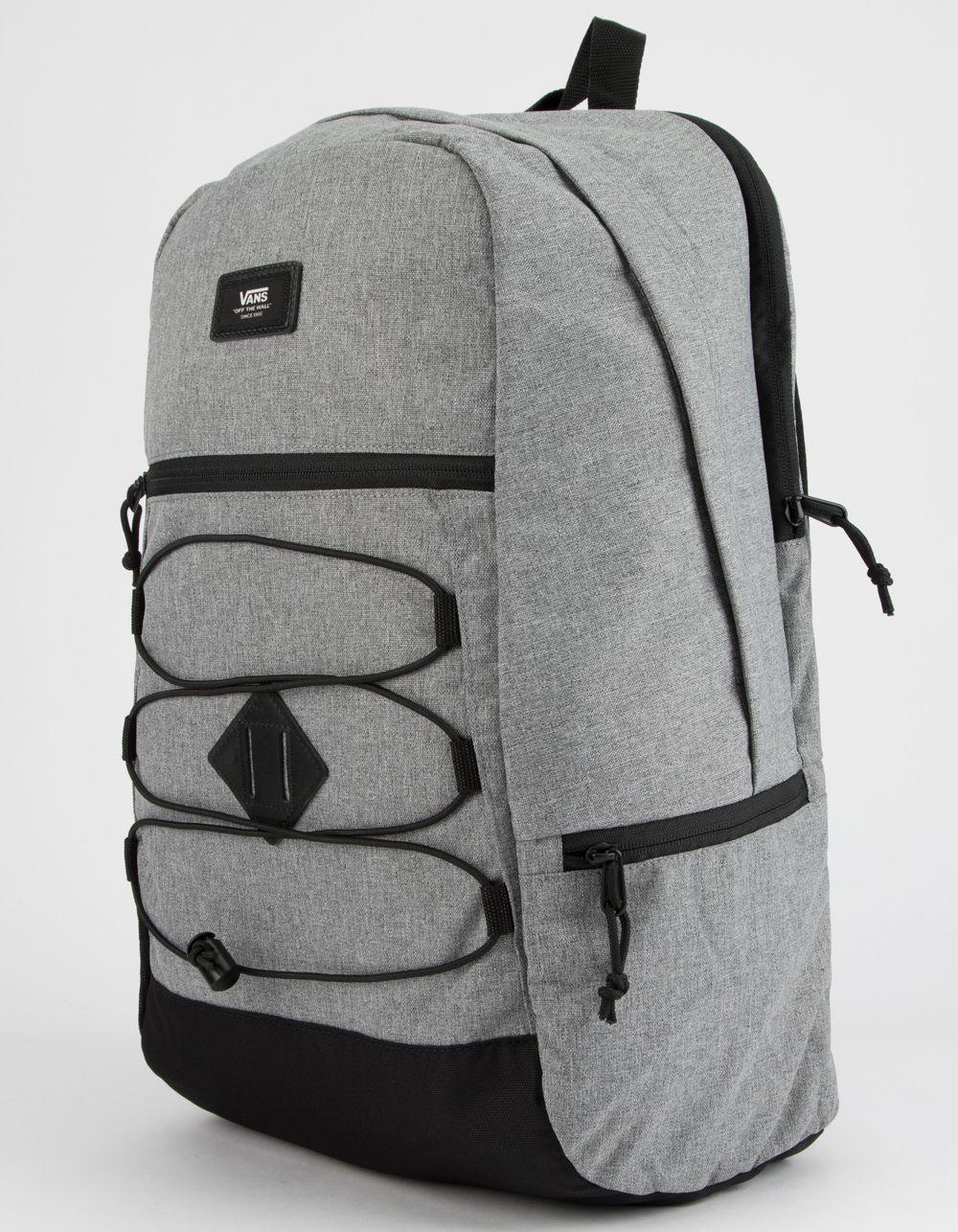 2febd95bec Vans Snag Plus Grey Backpack in Gray for Men - Save 42% - Lyst