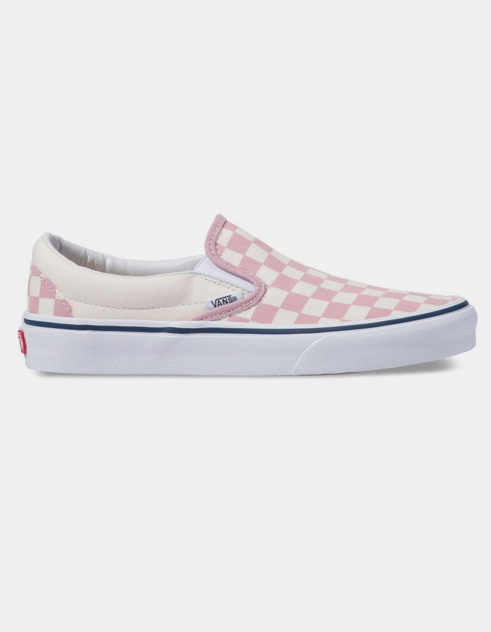 Vans Canvas Checkerboard Classic Slip