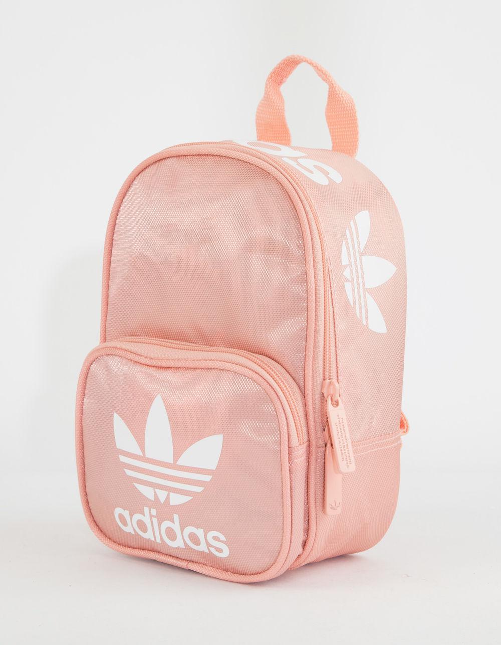 Lyst - adidas Originals Santiago Pink Mini Backpack in Pink f3cb6f9a6e570