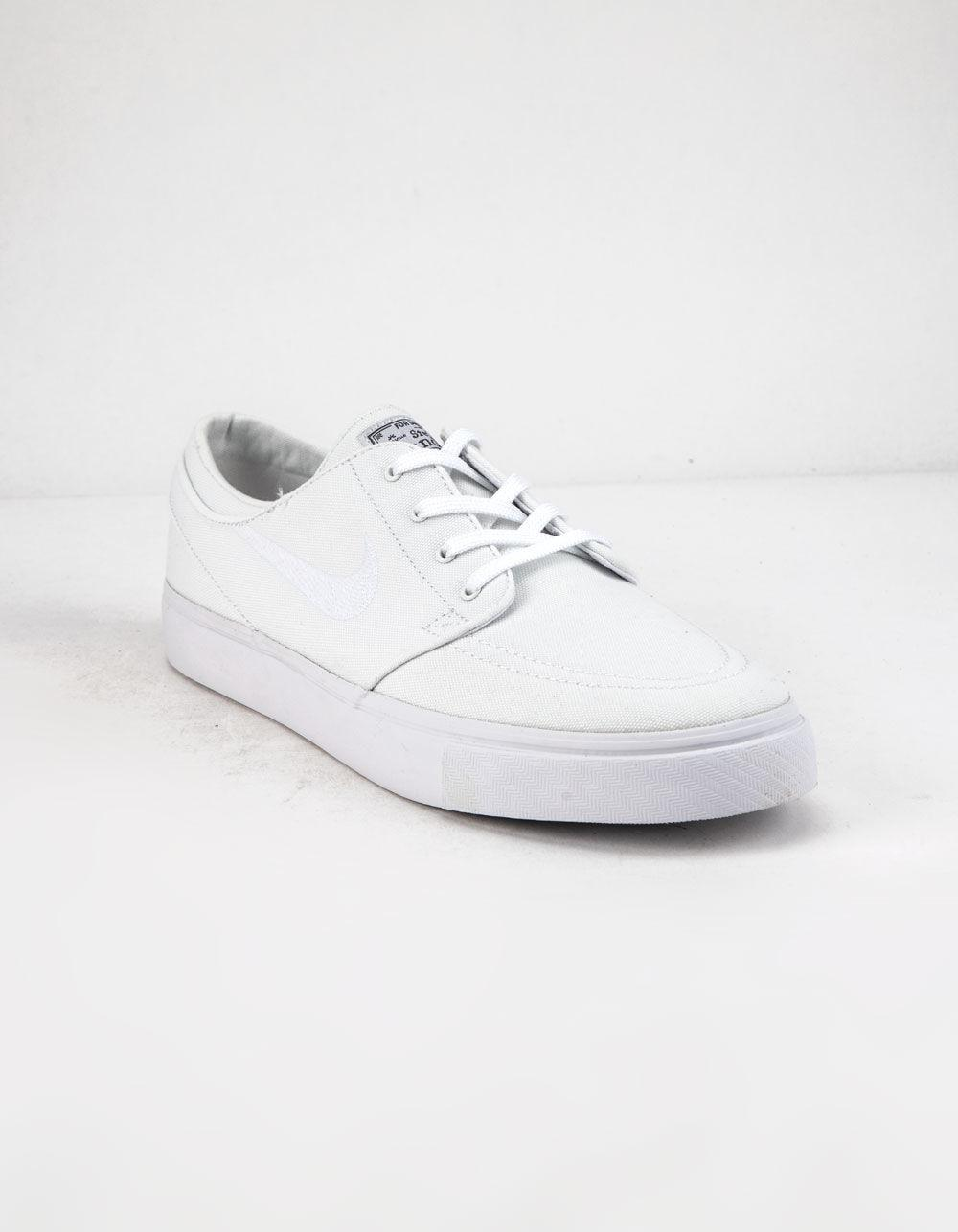 adeb5f0e9e40 Lyst - Nike Sb Zoom Janoski Canvas Rm White Mens Shoes in White for Men