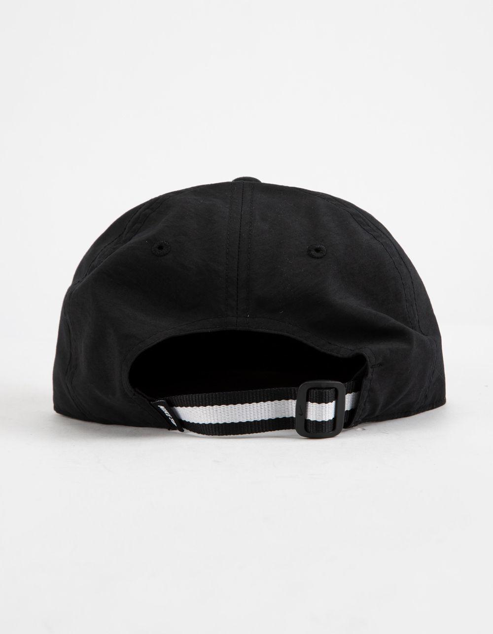 490eaba603bae Nike Dri-fit Heritage 86 Flat Black Combo Mens Strapback Hat in ...