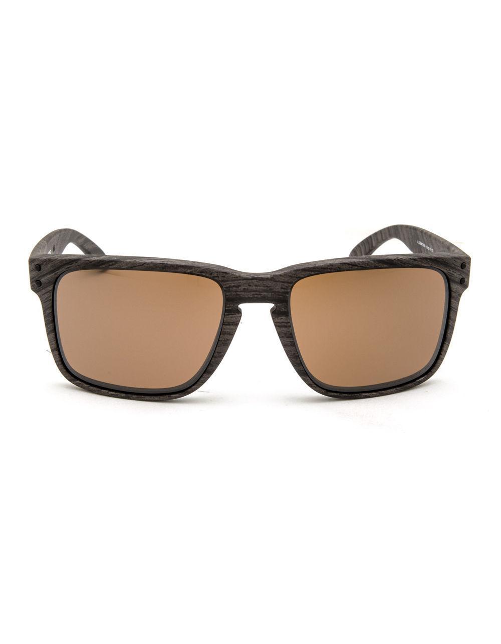 dd060f68da Lyst - Oakley Holbrook Xl Woodgrain   Prizm Tungsten Polarized Sunglasses  for Men