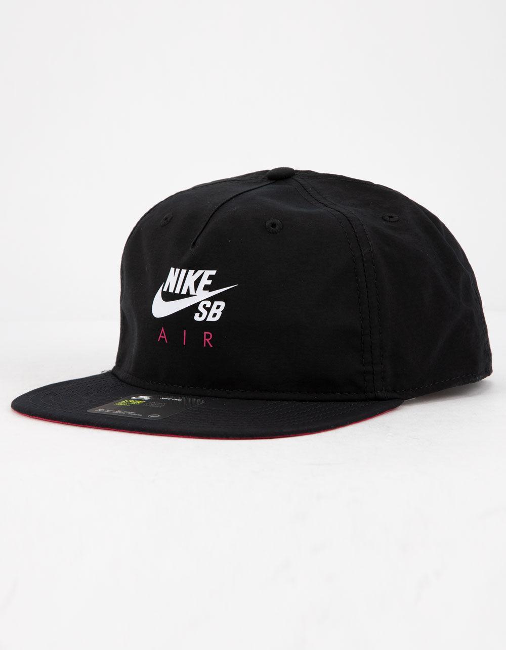 7cdc1528ea871 Nike - Black Pro Cap Air Mens Strapback Hat for Men - Lyst. View fullscreen