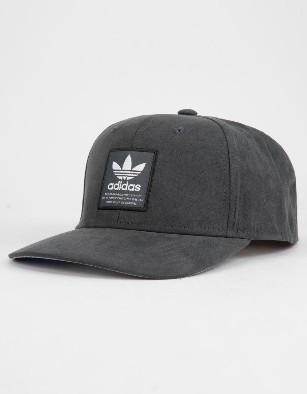 b540158f ... best price adidas originals trefoil patch gray mens snapback hat for men  lyst. view fullscreen