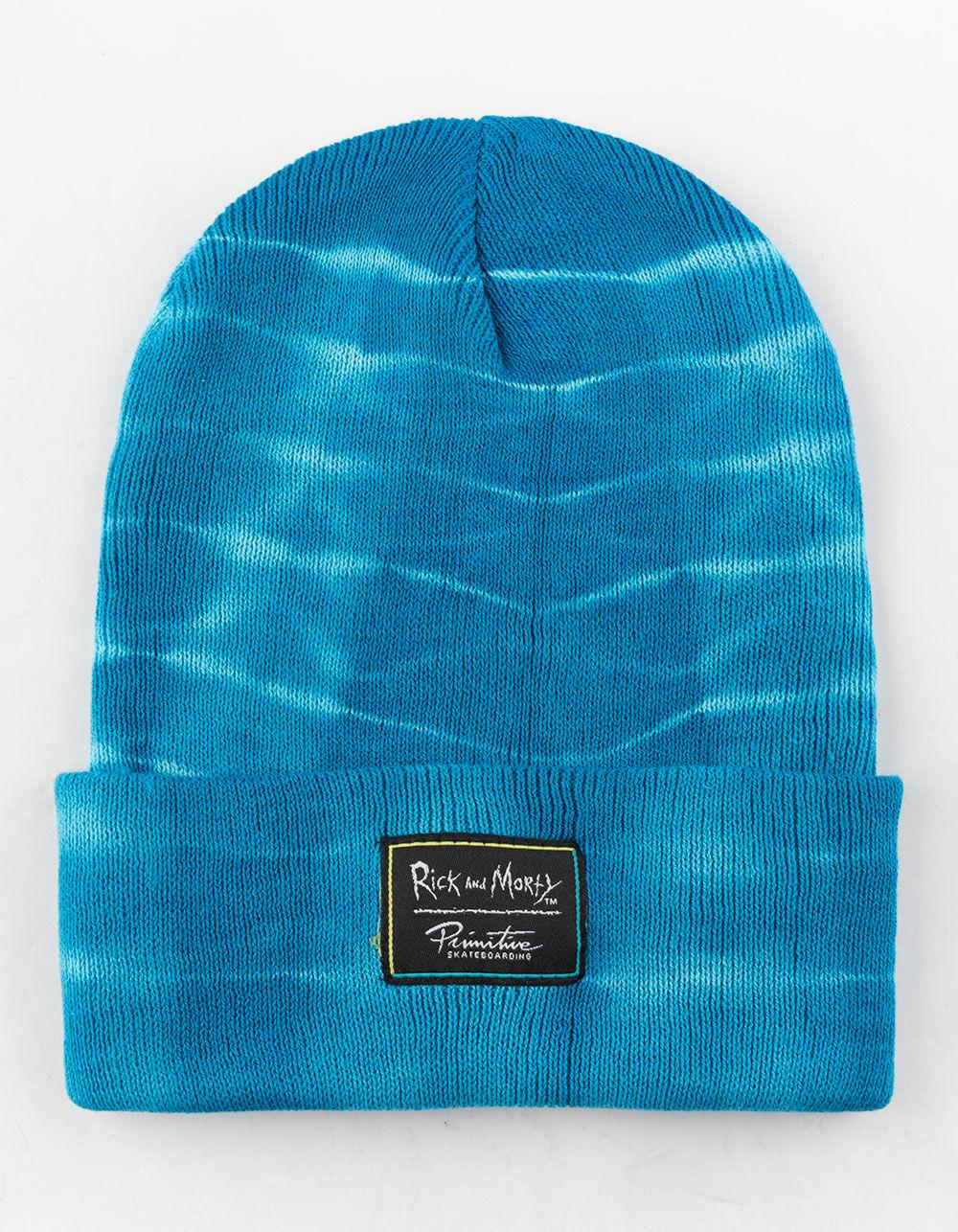 cdc4cbd5f3b Lyst - Primitive X Rick And Morty Morty Washed Aqua Mens Beanie in Blue for  Men