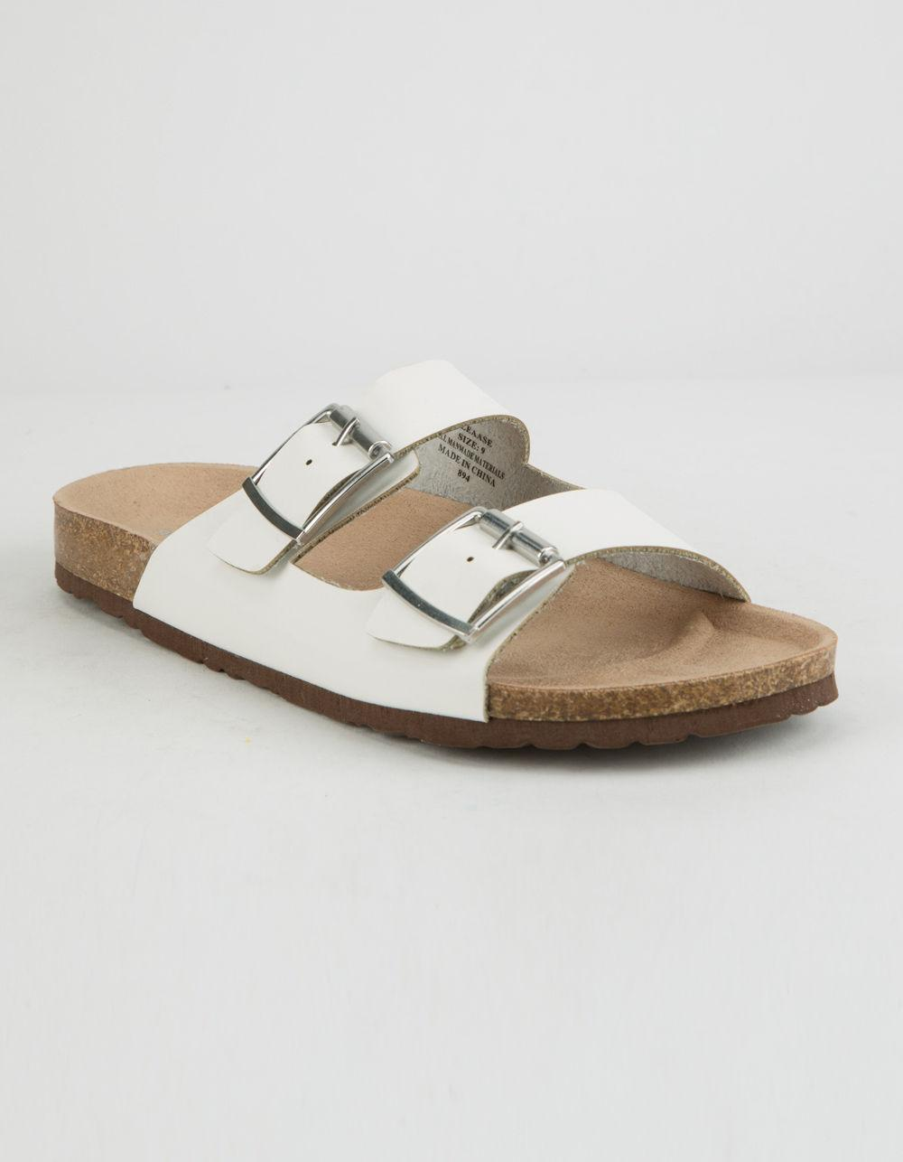 ff3e44112ed Lyst - Madden Girl Pleaase White Womens Sandals in White