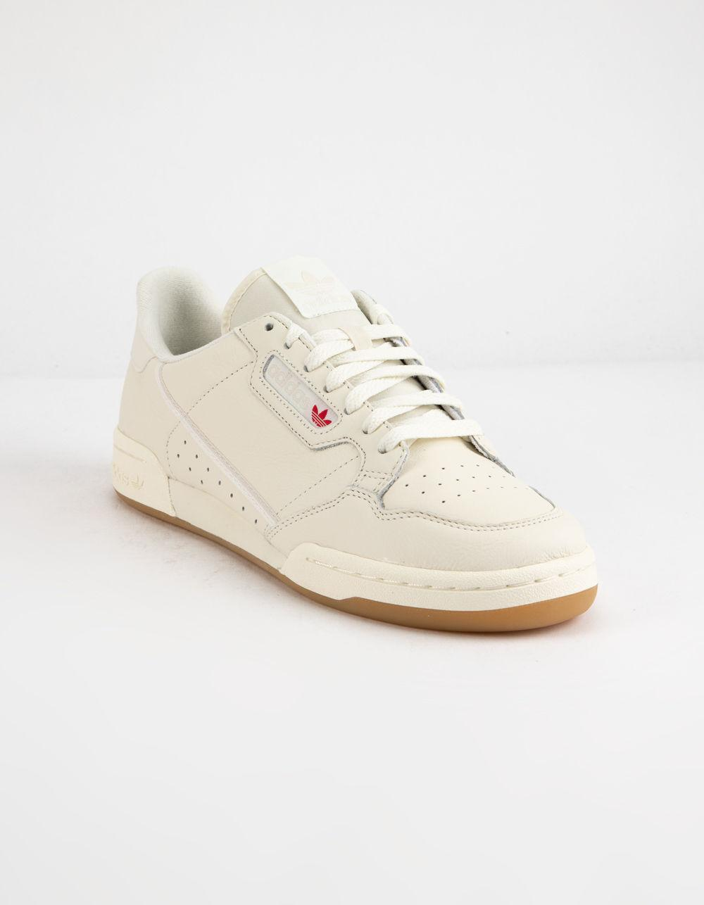 aadb1b38d48b Lyst - adidas Continental 80 Off White   Gum Shoes in White for Men