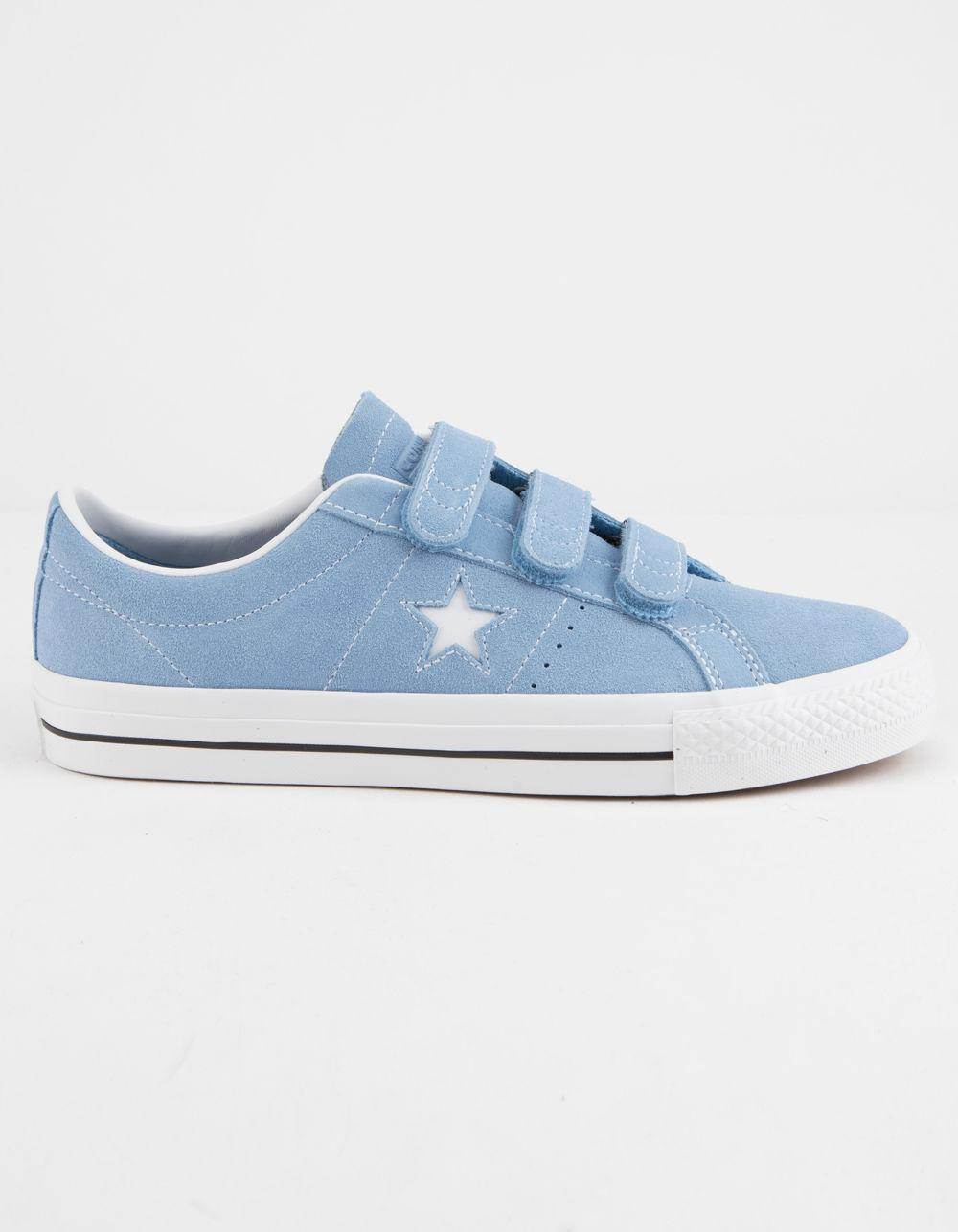 Lyst - Converse One Star Pro 3v Ox Light Blue   White Shoes in Blue ... debaa0428