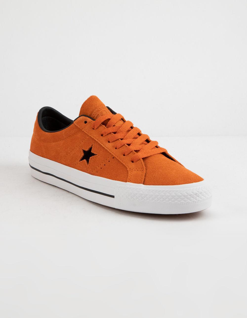 Lyst - Converse One Star Pro Ox Campfire Orange Shoes in Orange for Men 17e56f4a5