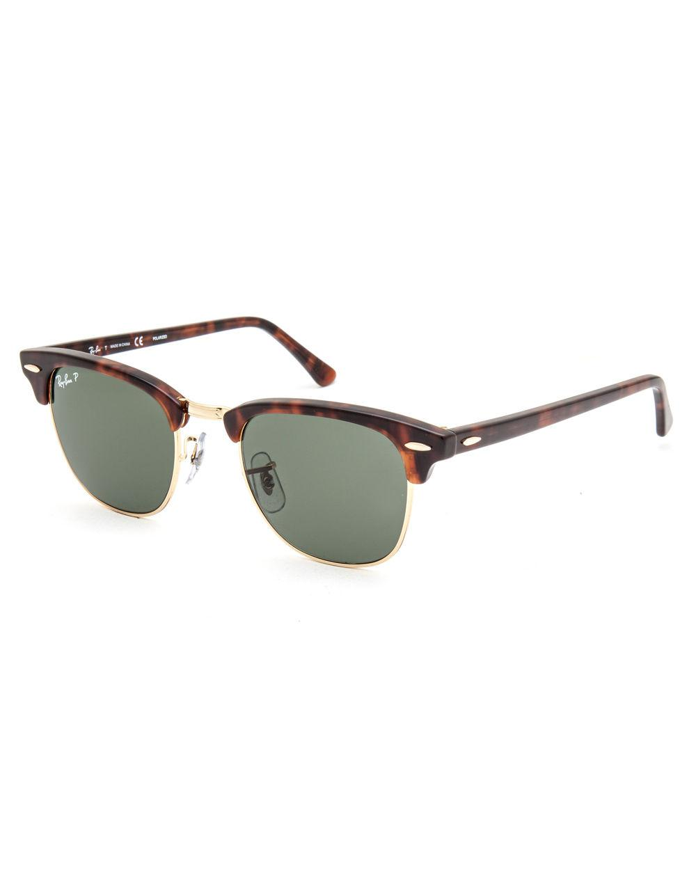 62688a3712 Lyst - Ray-Ban Clubmaster Classic Polarized Sunglasses for Men