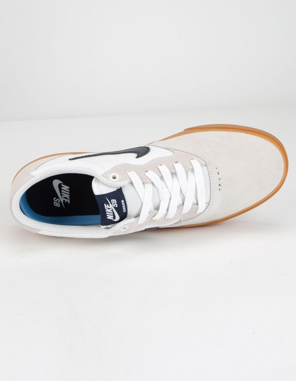 Nike Canvas Chron in White for Men