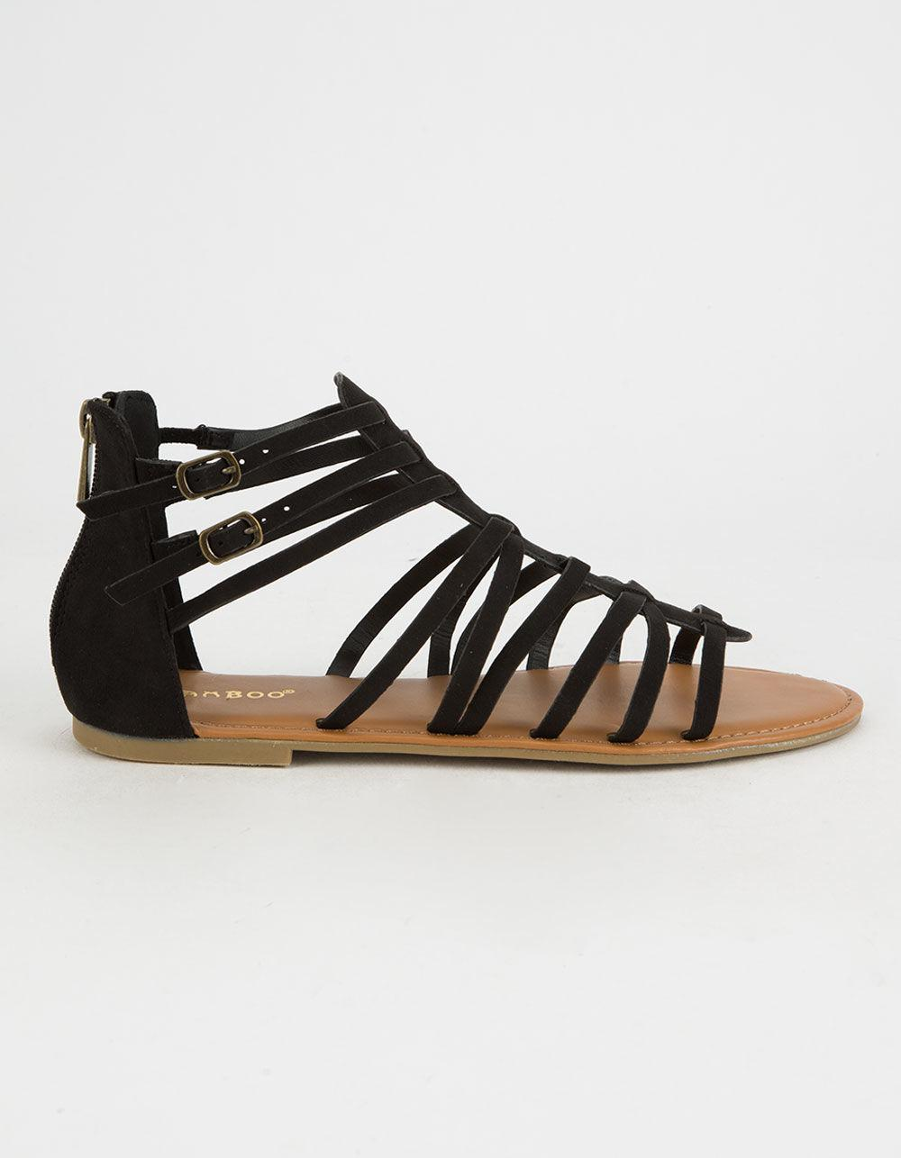 Bamboo Strappy Back Zip Womens