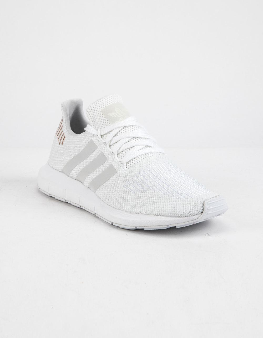Lyst - adidas Swift Run Cloud White   Crystal White Womens Shoes in White 6c52c79a59