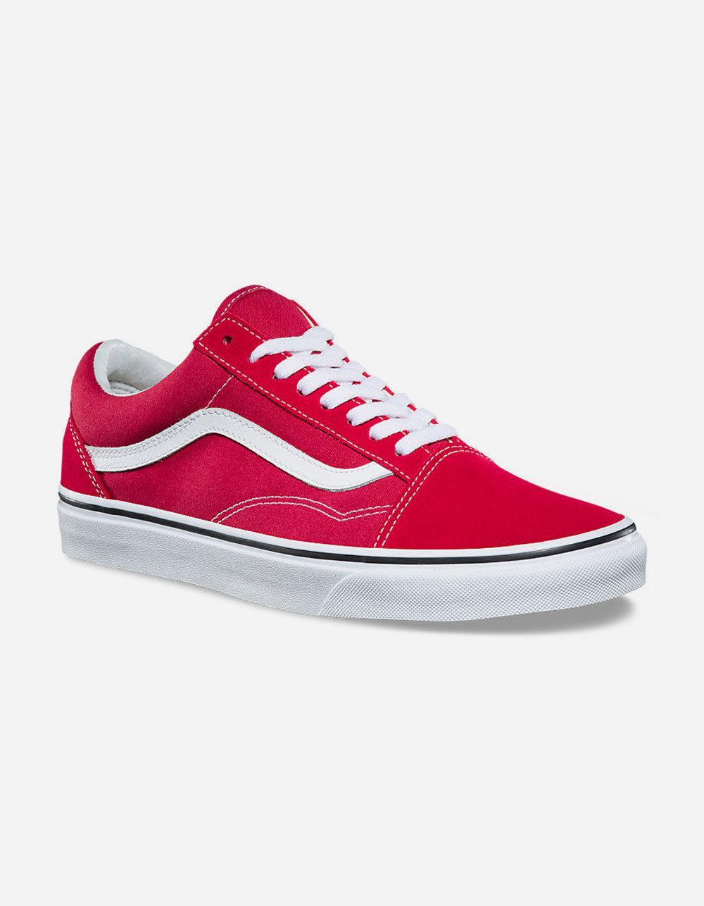 ec4d200fbc Men True In Lyst Crimson Vans Shoes White amp  Red Skool For Old qTnZ1nxwF6