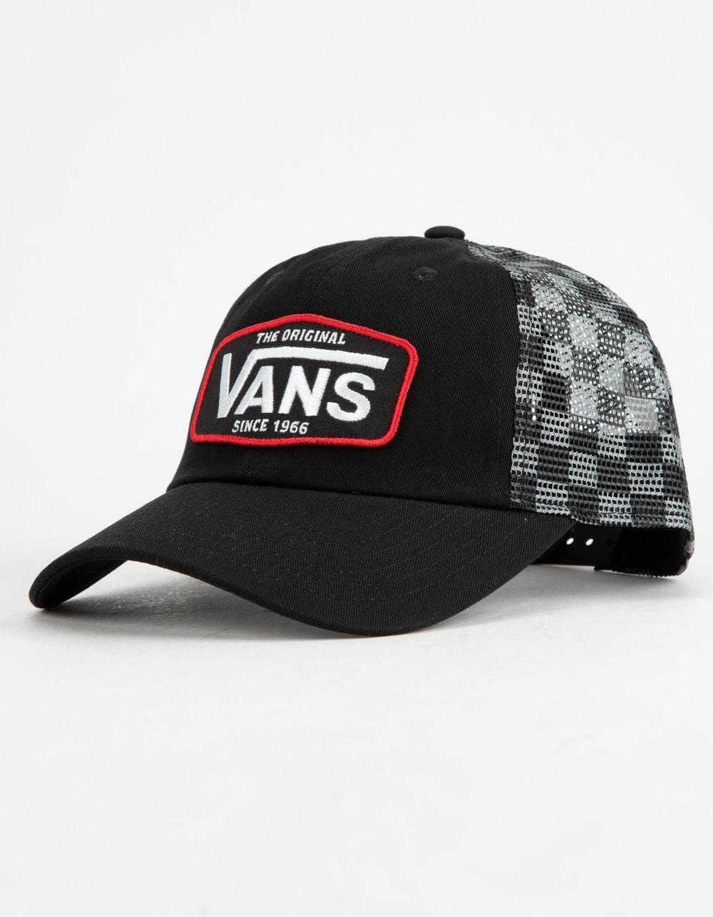 Vans - Black Drop V Patch Mens Trucker Hat for Men - Lyst. View fullscreen f0c6c314e