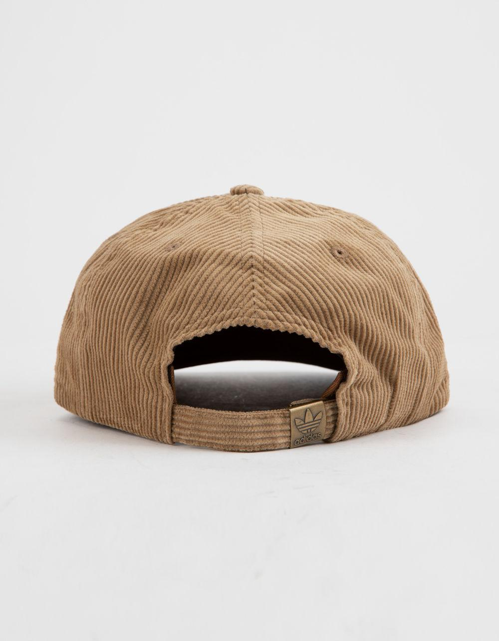 dc610e20f2266 Lyst - adidas Originals Relaxed Wide Wale Corduroy Mens Strapback Hat in  Brown for Men