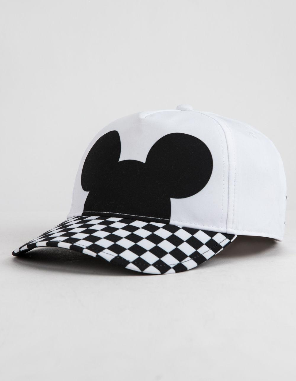 35c804f2d8c Lyst - Vans Disney X Checkerboard Mickey Womens Strapback Hat