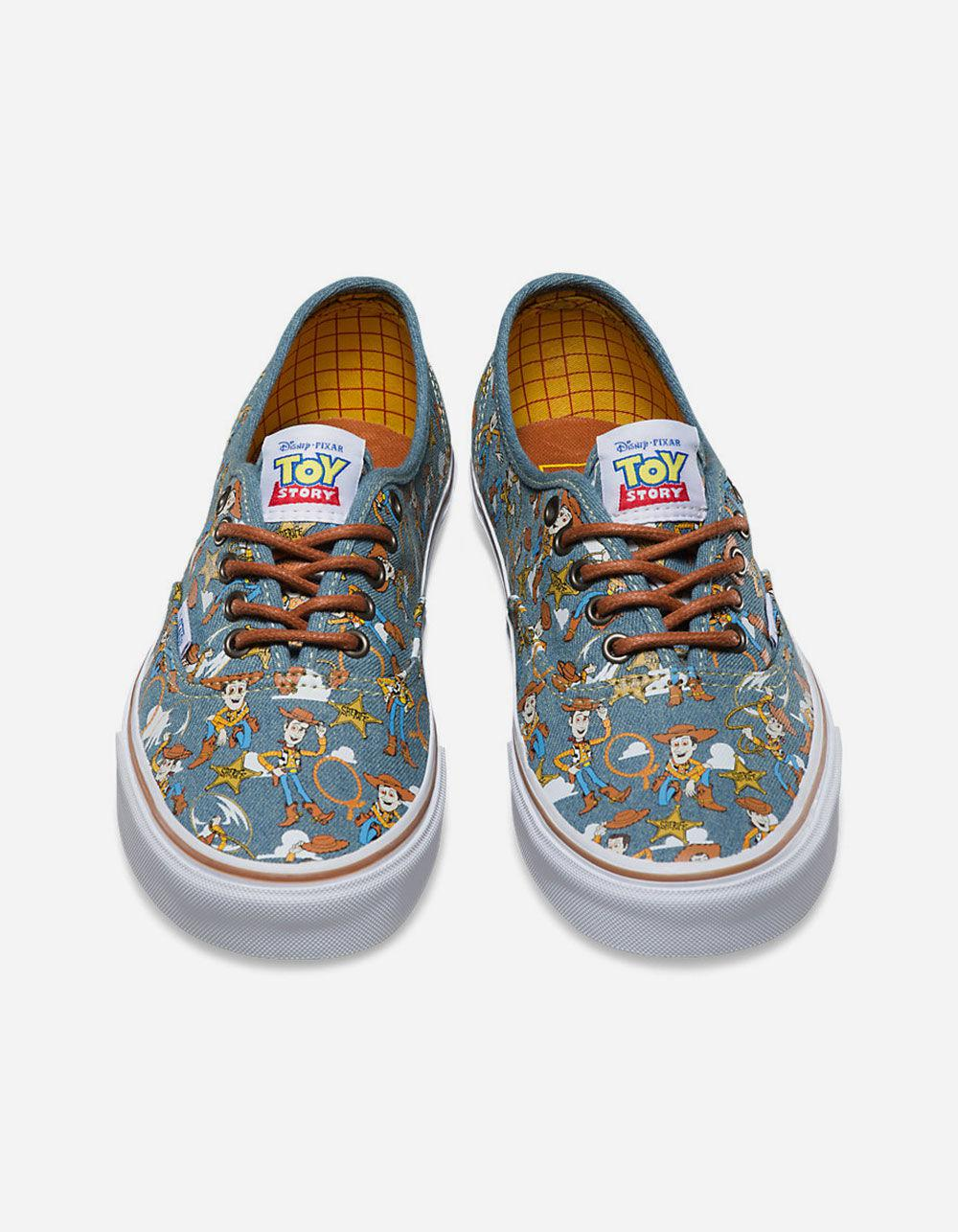 Lyst Vans X Toy Story Woody Authentic Shoes In Blue For Men