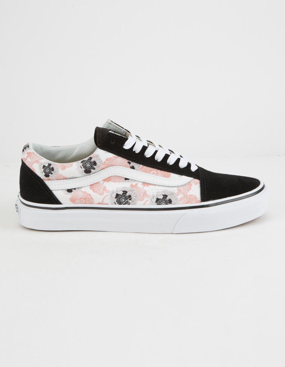 dc4239470aa Lyst - Vans California Poppy Old Skool Womens Shoes