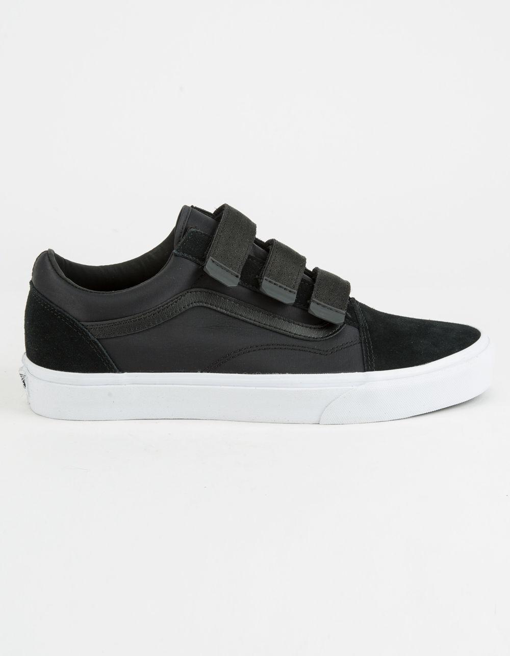 Lyst - Vans Old Skool V Surplus Nylon Black Mens Shoes in Black for Men d9f00e7a4