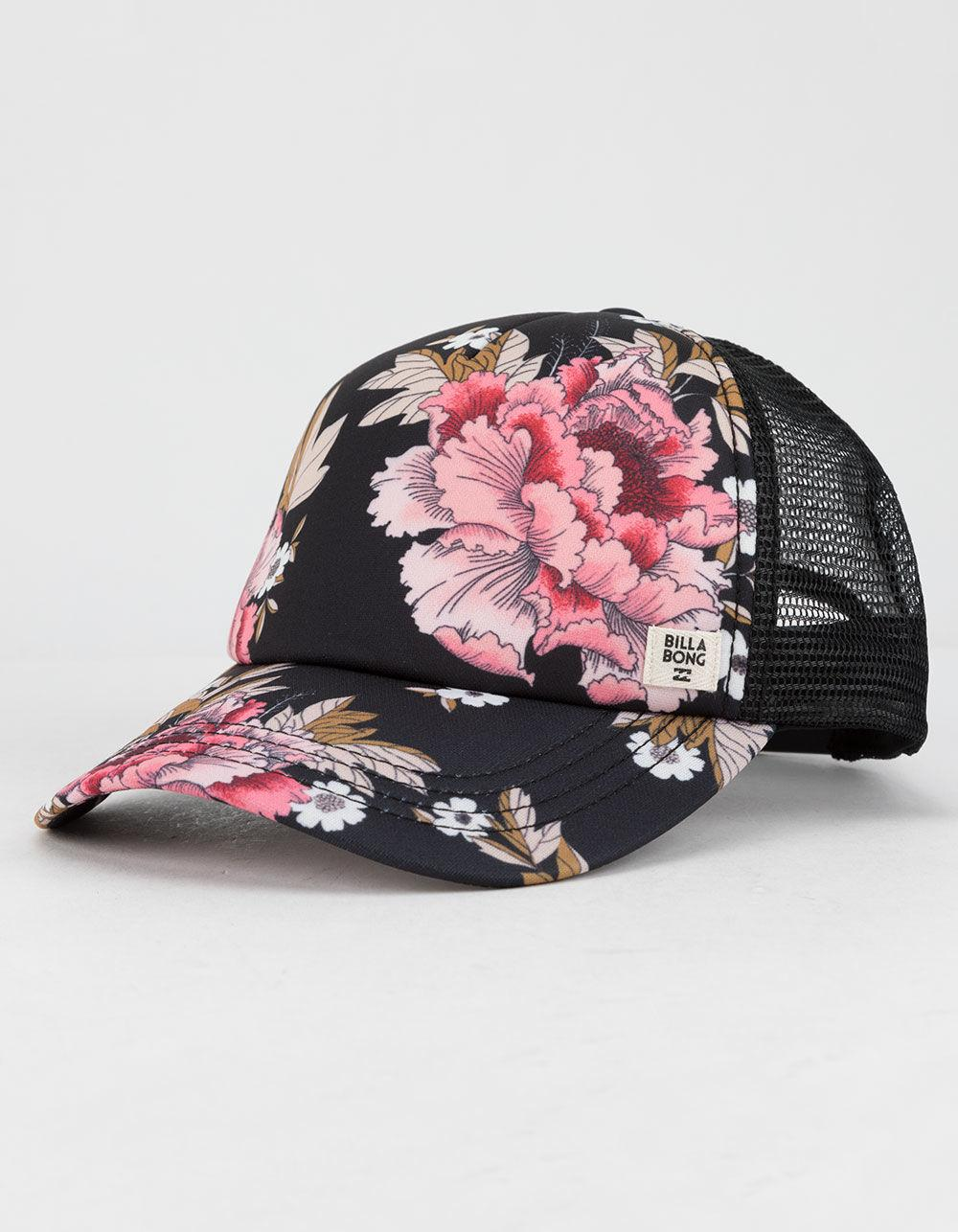 c2128895f6f5d Lyst - Billabong Heritage Mashup Black Womens Trucker Hat in Black